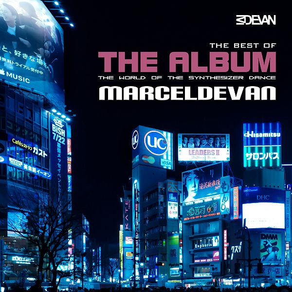 MarcelDeVan - The Best of the Album the World of the Synthesizer Dance (CD Cover)